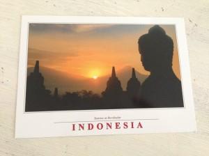 Kaart Borobudur